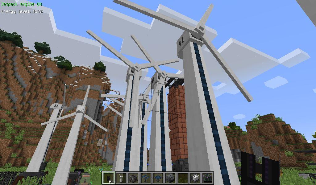 風車 型 マイクラ